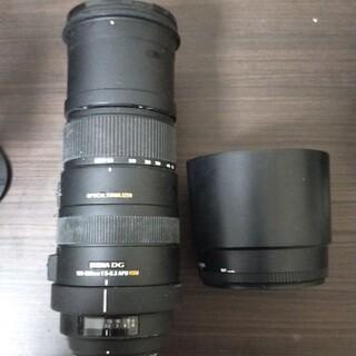 SIGMA - シグマSIGMA望遠レンズ150-500mm1:5-6:3APOHSM ニコン