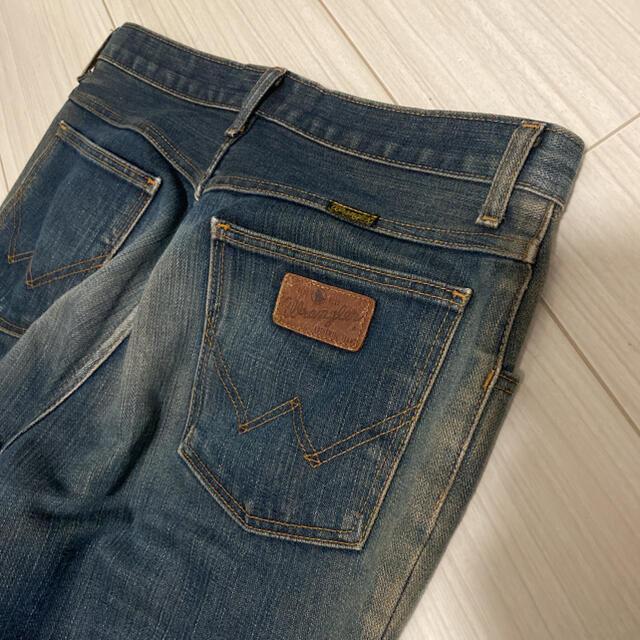 JOHN LAWRENCE SULLIVAN(ジョンローレンスサリバン)の古着 Wrangler フレアデニム メンズのパンツ(デニム/ジーンズ)の商品写真