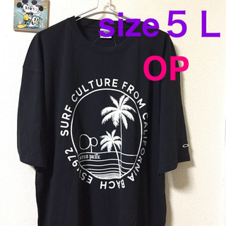大きいサイズメンズ*新品 タグ付き OP Tシャツ