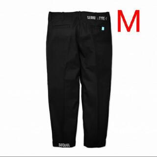 美品sequel  chino pants black M シークエル藤原ヒロシ(チノパン)