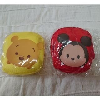 ディズニー(Disney)のエコバッグ   まんまるポーチ入り 2個セット☆送料込(エコバッグ)