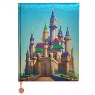オーロラヒメ(オーロラ姫)の眠れる森の美女 ノートブック ポスター付き 城(キャラクターグッズ)