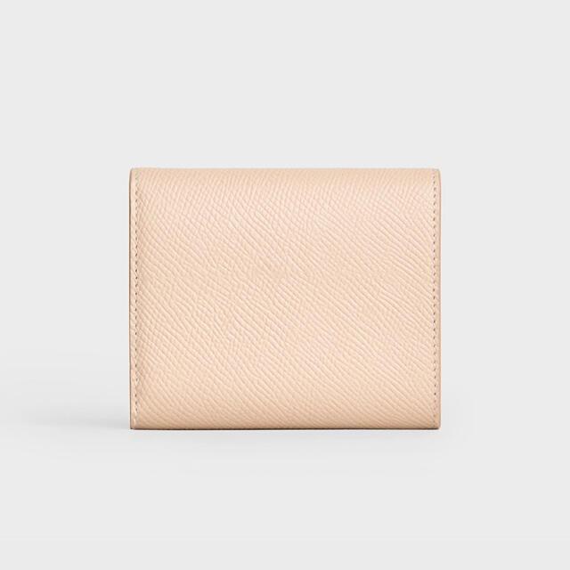 celine(セリーヌ)の【新品】CELINE トリフォールド ウォレット 三つ折り財布 パウダー レディースのファッション小物(財布)の商品写真