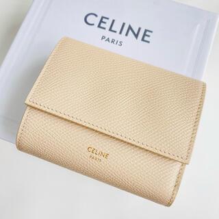 celine - ラスト1【新品】CELINE トリフォールド ウォレット 三つ折り財布 ヌード