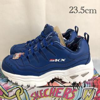 スケッチャーズ(SKECHERS)のスケッチャーズ SKECHERS スニーカー 厚底 ブルー 23.5cm(スニーカー)