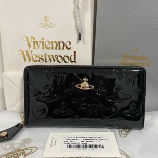 Vivienne Westwood - Vivienne Westwoodヴィヴィアンウエストウッド長財布☆エナメル☆