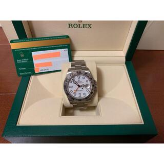 ROLEX - ロレックス エクスプローラー2 ホワイト 216570