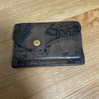 グラインドロッヂ×boab コンパクト財布