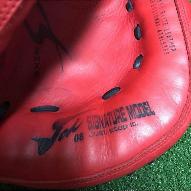 NIKE(ナイキ)の美品 良型 城島モデル キャッチャーミット NIKE スポーツ/アウトドアの野球(グローブ)の商品写真
