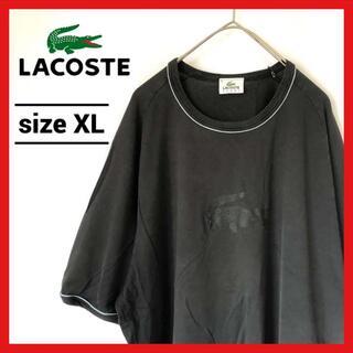 LACOSTE - 90s 古着 ラコステ Tシャツ オーバーサイズ ビッグロゴ