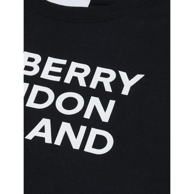 BURBERRY(バーバリー)の【新作】バーバリー ロゴTシャツ ブラック 14 レディースのトップス(Tシャツ(半袖/袖なし))の商品写真