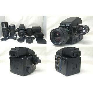 マミヤ 645 Pro AE FINDER レンズ4本 美品 #975133