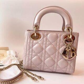 Dior - Lady Dior レディディオール バッグ ミニ ピンク
