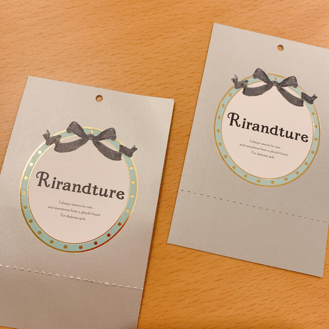 Rirandture(リランドチュール)のゆの様専用 リランドチュール 2wayブラウス レディースのトップス(シャツ/ブラウス(半袖/袖なし))の商品写真
