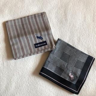 POLO RALPH LAUREN - 新品 ポロ ラルフローレン ハンカチ 2枚セット