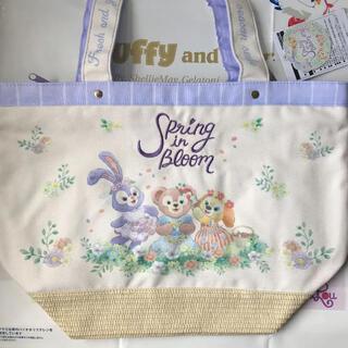 Disney - ダッフィー&フレンズ スプリング・イン・ブルーム トートバッグ