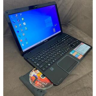 東芝 - 高スペック/第3世代i7!/高速SSD256GB/ブルーレイ/ノートパソコン/