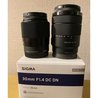 SONY - SONY Eマウント用レンズ2本セット 30mmF1.4 & E18-135