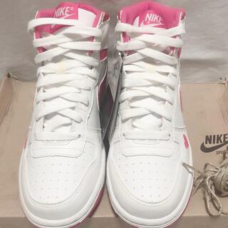 NIKE - 【新品未使用】NIKE BIG NIKE HIGH BG  ♡タグ付き ピンク色