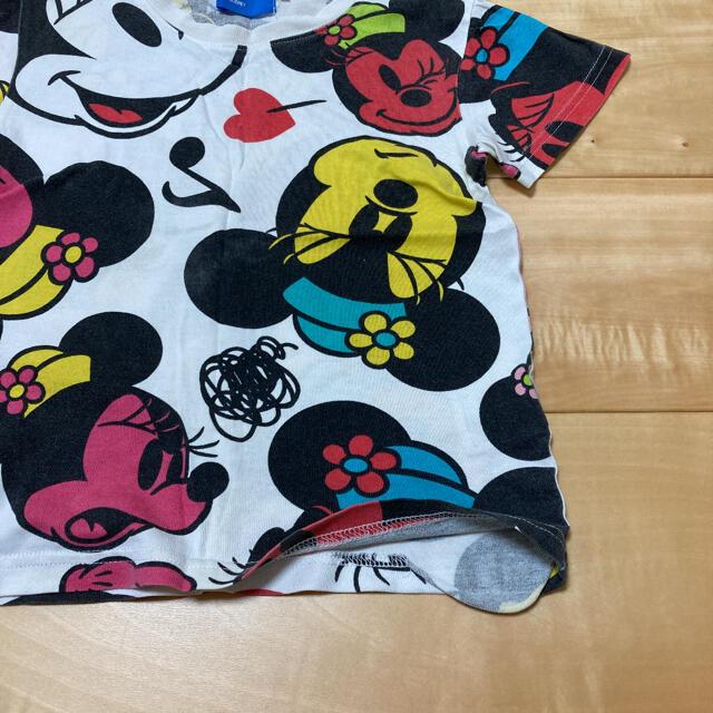 Disney(ディズニー)のディズニー♡ミッキー&ミニーTシャツ キッズ/ベビー/マタニティのキッズ服女の子用(90cm~)(Tシャツ/カットソー)の商品写真