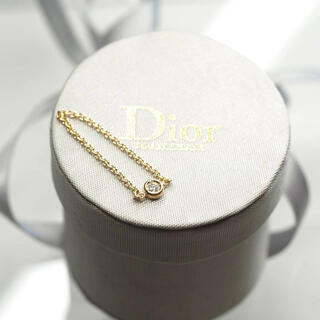 Christian Dior - クリスチャンディオール ミミウィ×ダイヤモンド×イエローゴールドチェーンリング