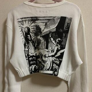 アリシアスタン(ALEXIA STAM)のjuemi ショート丈トップス(Tシャツ(長袖/七分))