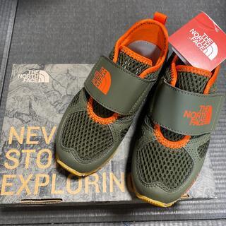 ザノースフェイス(THE NORTH FACE)のノースフェイス キッズ サンダル スニーカー 17cm 新品 タグ付き 子供 靴(サンダル)