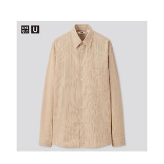 UNIQLO - 【L】ユニクロユーブロードストライプシャツ UNIQLO U ルメール