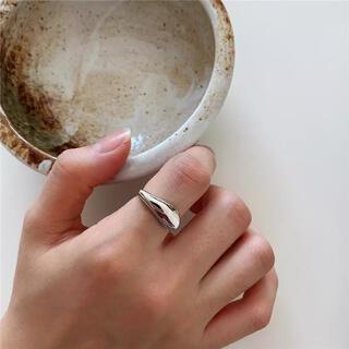 トゥデイフル(TODAYFUL)のwave ring-silver-(リング(指輪))