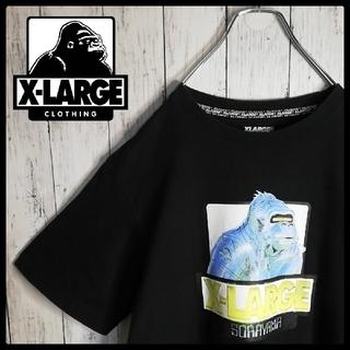 エクストララージ(XLARGE)の【限定コラボ】XLARGE×空山基 センターロゴ クルーネックTシャツ 入手困難(Tシャツ/カットソー(半袖/袖なし))