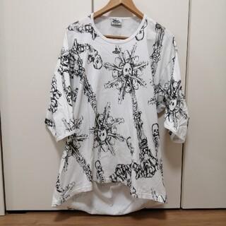 Vivienne Westwood - ヴィヴィアンウエストウッドマン 総柄 刺繍 オーブ カットソー
