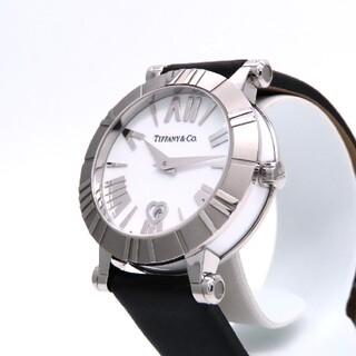 Tiffany & Co. - 【商談中】ティファニー 時計 'アトラス' ホワイト ☆極美品☆