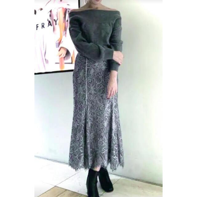 FRAY I.D(フレイアイディー)のフレイアイディーレースロングスカートスナイデルfrayidセルフォードアドーア レディースのスカート(ロングスカート)の商品写真