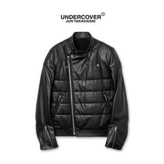 UNDERCOVER - 【 UNDERCOVER 】レザーライダースジャケット