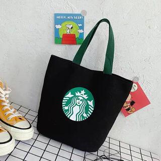 Starbucks Coffee - スターバックス トートバッグ ブラック