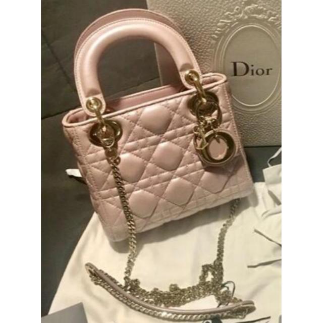 Dior(ディオール)のLady Dior カナージュ 2Way ミニハンドバッグ レディースのバッグ(ハンドバッグ)の商品写真