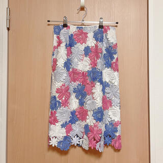 Noela - カラーレースタイトスカート / Noela