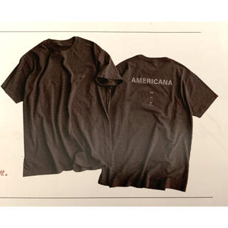 AMERICANA - アメリカーナ AMERICANA Tシャツ