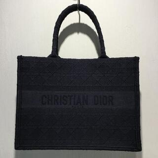 Dior - DIOR ディオール スモールブックトート ネイビー