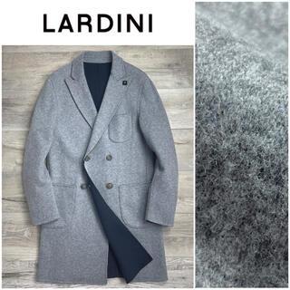 LORO PIANA - B1★美品 ラルディーニ ダブルフェイス リバーシブル コート グレー 48