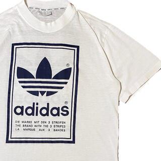adidas - 80's adidas アディダス Tシャツ ロゴT ヴィンテージ