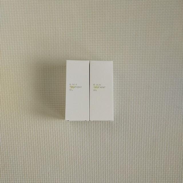 RMK(アールエムケー)のアールエムケー RMK Wトリートメントオイル 50ml 2つ コスメ/美容のスキンケア/基礎化粧品(美容液)の商品写真