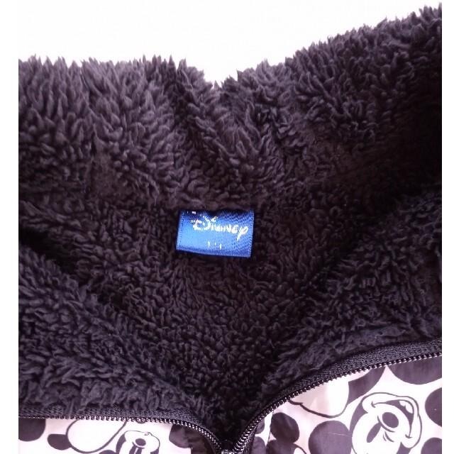 Disney(ディズニー)のしまむら ディズニー ミッキー ボアブルゾン キッズ/ベビー/マタニティのキッズ服男の子用(90cm~)(ジャケット/上着)の商品写真