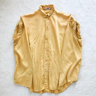 アクネ(ACNE)のACNE てろシャツ(シャツ/ブラウス(半袖/袖なし))