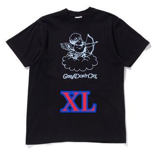 Girls Don't Cry GDC ANGEL TEE BLACK XL