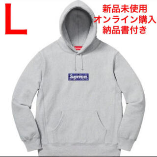 Supreme - Supreme Box Logo Hooded Sweatshirt バンダナ