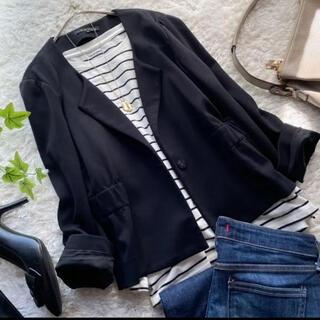 theory - セオリー ジャケット 羽織り ブラック 黒 サイズ2