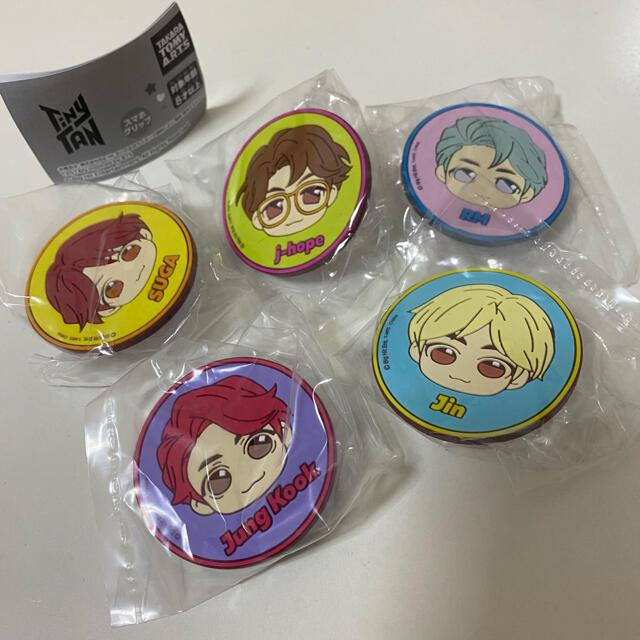 TinyTan スマホクリップ エンタメ/ホビーのCD(K-POP/アジア)の商品写真