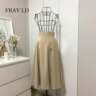 FRAY I.D - 【美品】フレイアイディー ひざ丈フレアスカート