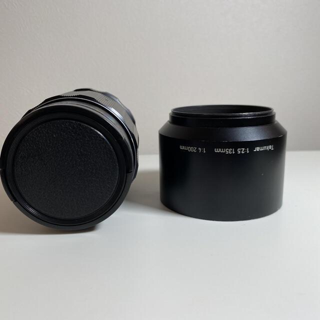 PENTAX(ペンタックス)のAsahi Super-Takumar 135mm F2.5 スマホ/家電/カメラのカメラ(レンズ(単焦点))の商品写真